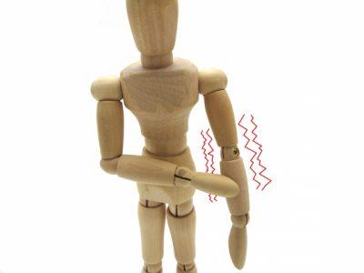 四肢(腕、脚)の整体法