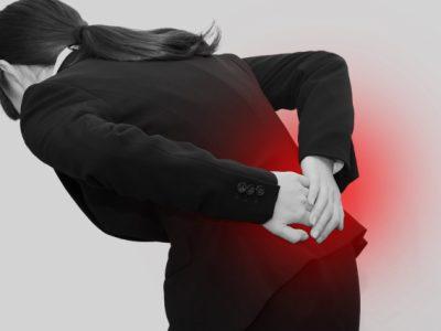ギックリ腰と体の歪み